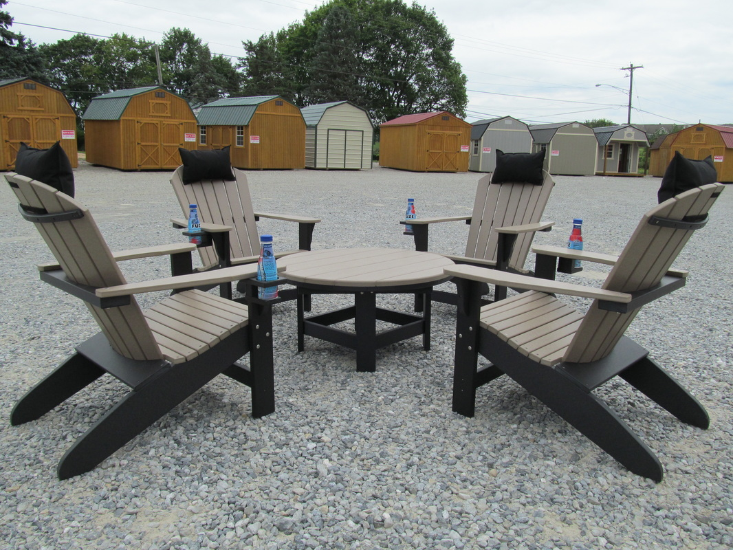 picture - Polywood Adirondack Chairs